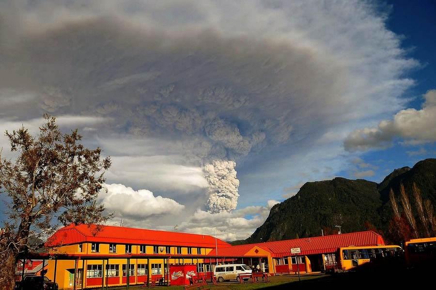 Fotos de la erupción del volcán Puyehue Puyehue02