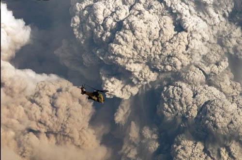 Fotos de la erupción del volcán Puyehue Puyehue06a