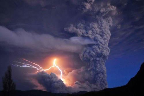 Fotos de la erupción del volcán Puyehue Puyehue12a