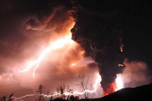 Fotos de la erupción del volcán Puyehue Puyehue13a