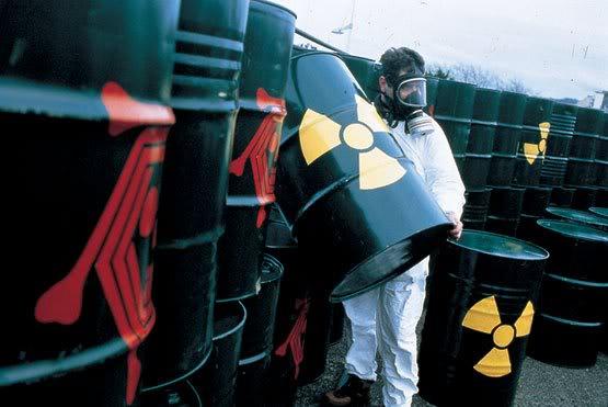Centrales nucleares: un genocidio radiactivo seguro. Residuos_nuclear
