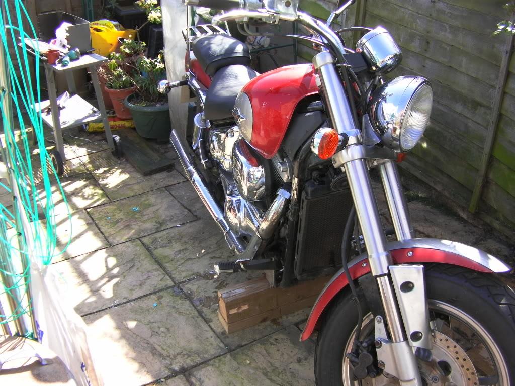 My Bike .......... 1997 Suzuki VZ800 Bikesandstuff010