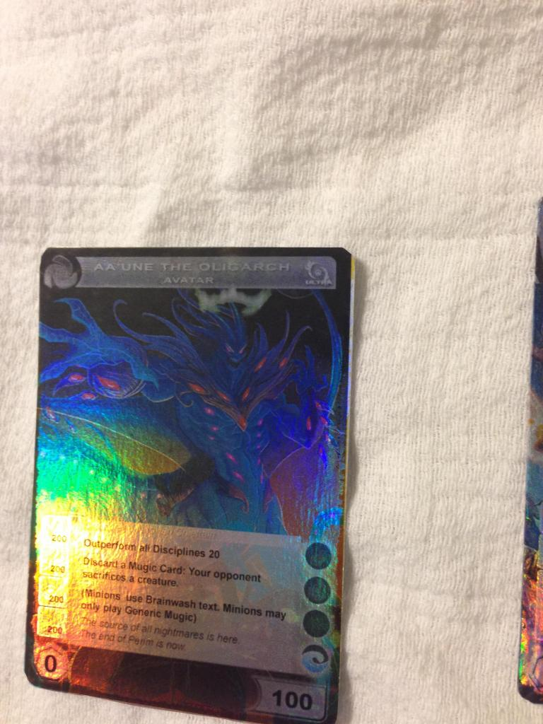 Doublea's Amazing Chaotic Proxy Cards! Photo11