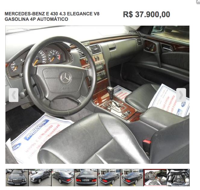 w210 - E430 B4 - 99 - R$37.900,00 ScreenShot2014-05-17at115637PM_zps19c7d7dd