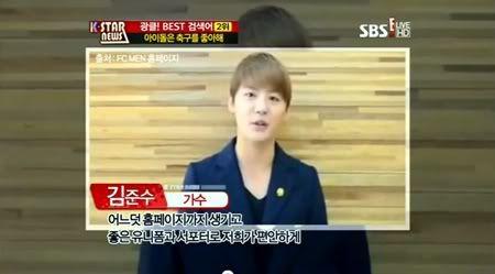 "PROGRAMA ""K-Star News"" - Junsu & FCMEN (21/06/2012) Fremuimki"