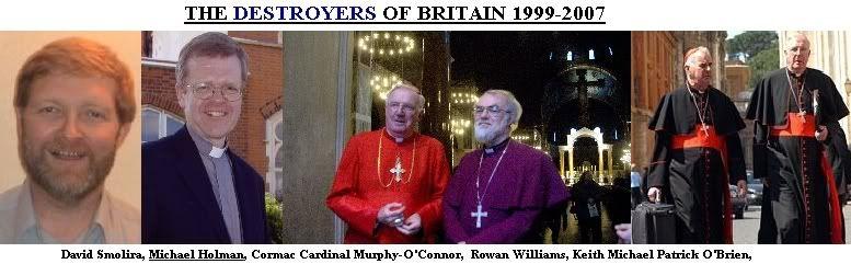 Brittanië nu volledig Rooms Katholiek? ENGLANDDEATH
