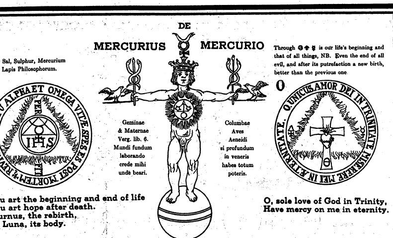 """El Acrónimo Jesuita """"I.H.S."""" en el Grimorio de San Cripriano Bull"""