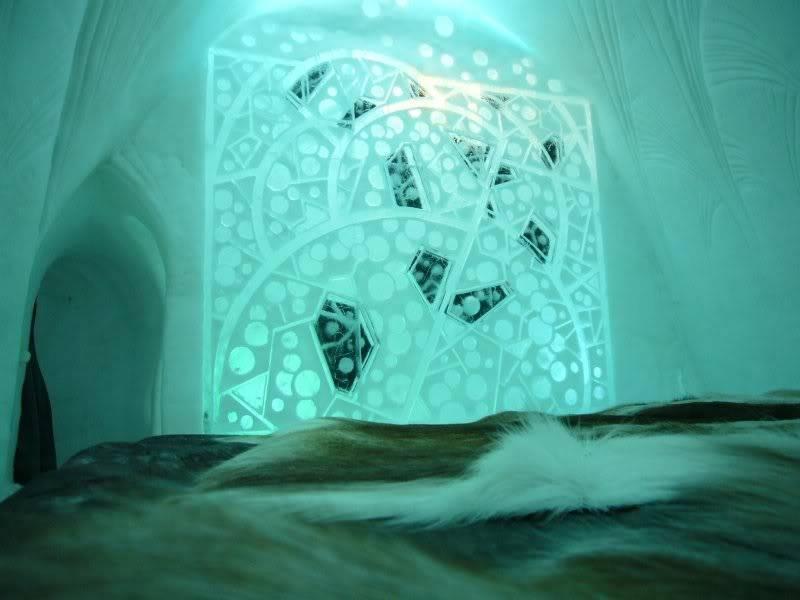 Elektra's Underground Lair IceHotel