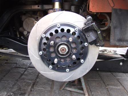 F/TF full front and rear 280mm Brake kits 280mmfitted