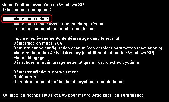 [شرح] حل مشكل نسيان كلمة مرور الحاسوب.. Mode_sans_echec
