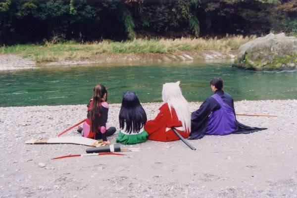 Cosplays de Inuyasha y R. Kenshin River
