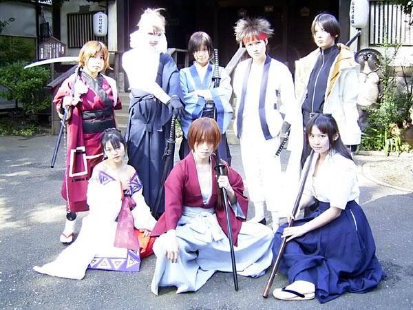 Cosplays de Inuyasha y R. Kenshin Kenshin