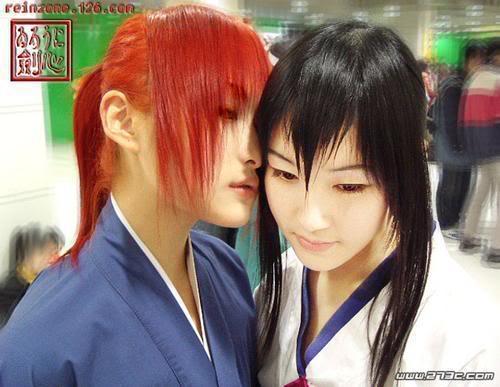 Cosplays de Inuyasha y R. Kenshin Kenshintomoe