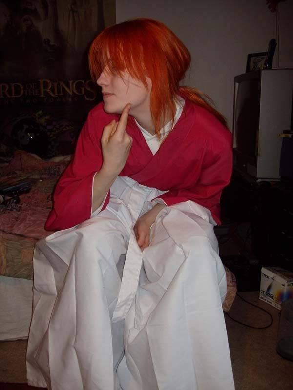 Cosplays de Inuyasha y R. Kenshin Wappu2005001