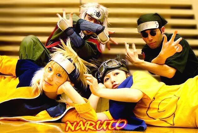 Cosplays de Naruto Group003