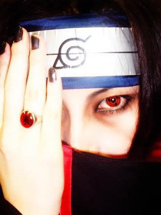 Cosplays de Naruto Itachiwithsharingancontact