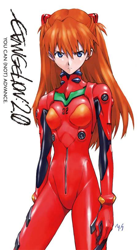 Evangelion:2.0 You can (not) advance Asuka_ha_poster