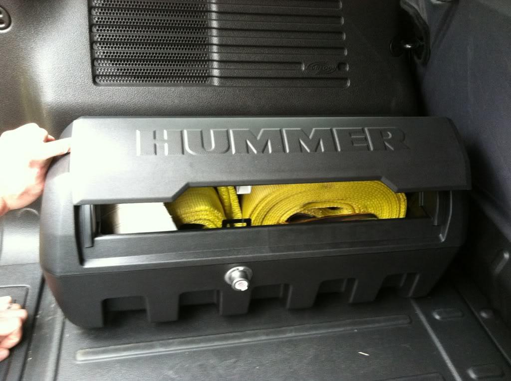 Caisse outil Hummer PVC noir 80cb3af4