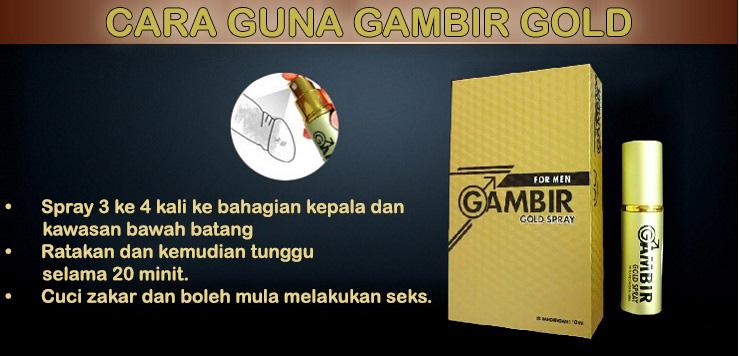 Gambir Gold Spray | 100% Herba | Tahan Lama | Kepuasan Klimaks Maksimum Gambirgoldmalaysia11_zps0z32gm20