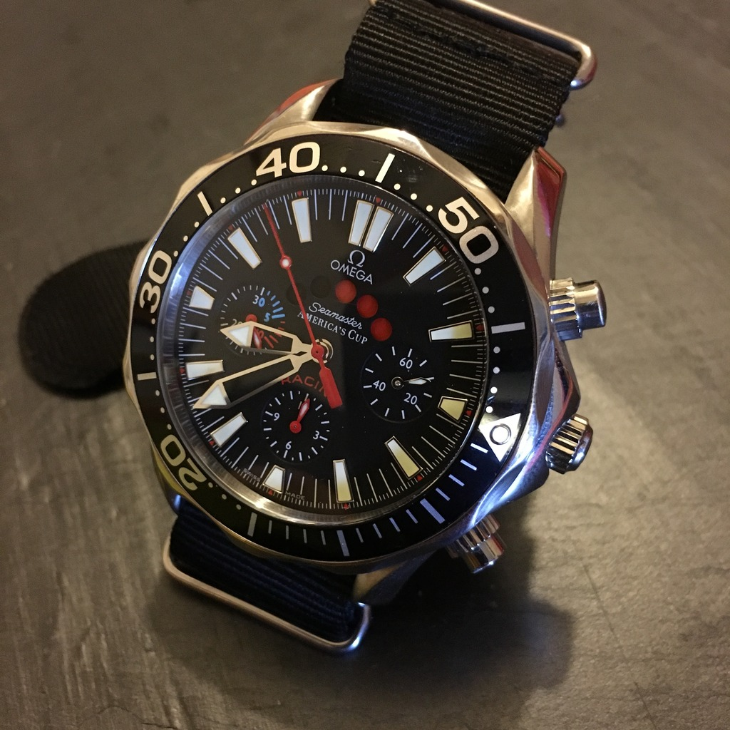 omega - Omega Seamaster America's Cup Racing 0C663A1D-CC7E-4457-8154-B7FB25525E0D