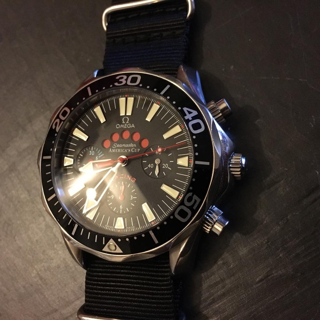 omega - Omega Seamaster America's Cup Racing 851CCD56-E5A1-4B22-9808-B72E0E2E967A