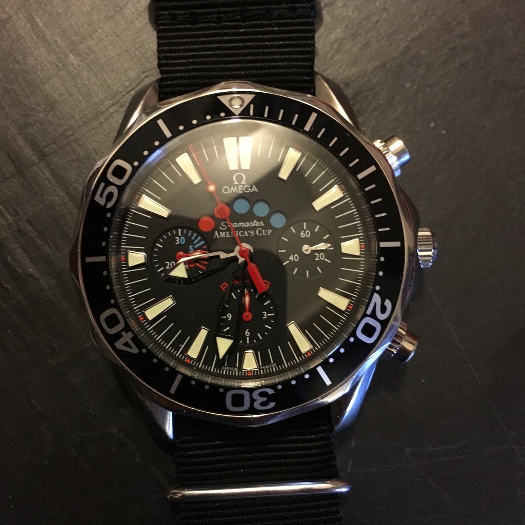omega - Omega Seamaster America's Cup Racing A189862E-D389-45A2-835D-C3F7F3229910