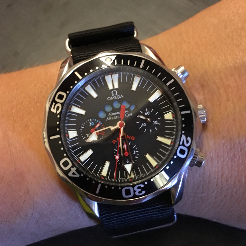 omega - Omega Seamaster America's Cup Racing A4377143-5C0C-4F51-A862-9C027CE37D57