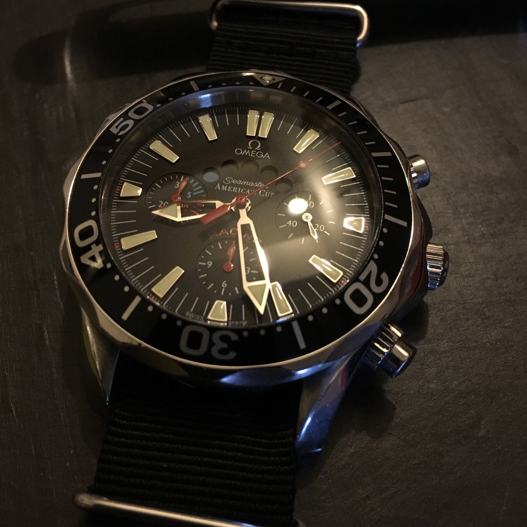 omega - Omega Seamaster America's Cup Racing F9647CE4-A551-427D-94A0-FAC4388A190F