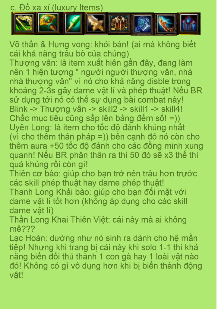 [Guide Chọn Lọc]Guide Cung thủ - By G.Stars..Crisis (2) 11-1