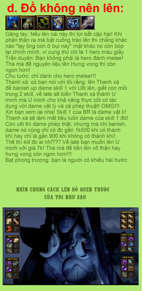 [Guide Chọn Lọc]Guide Cung thủ - By G.Stars..Crisis (2) 12