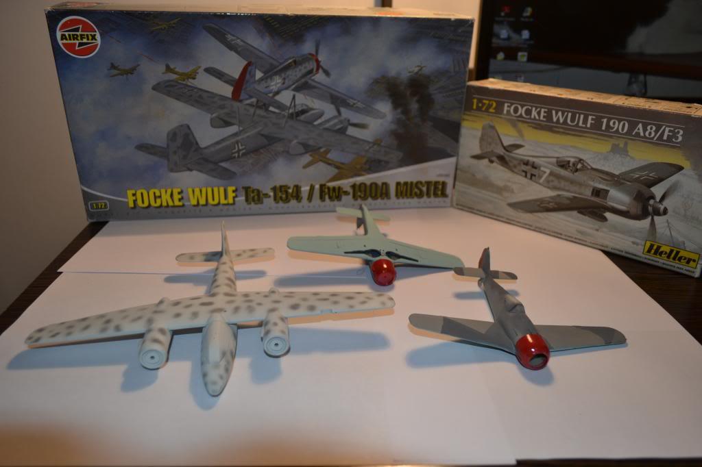 FOKE WULF Ta 154/ FW -190 A MISTEL  AIRFIX 1/72+ FW 190 A HELLER 1/72 DSC_0335_zps0d10db36