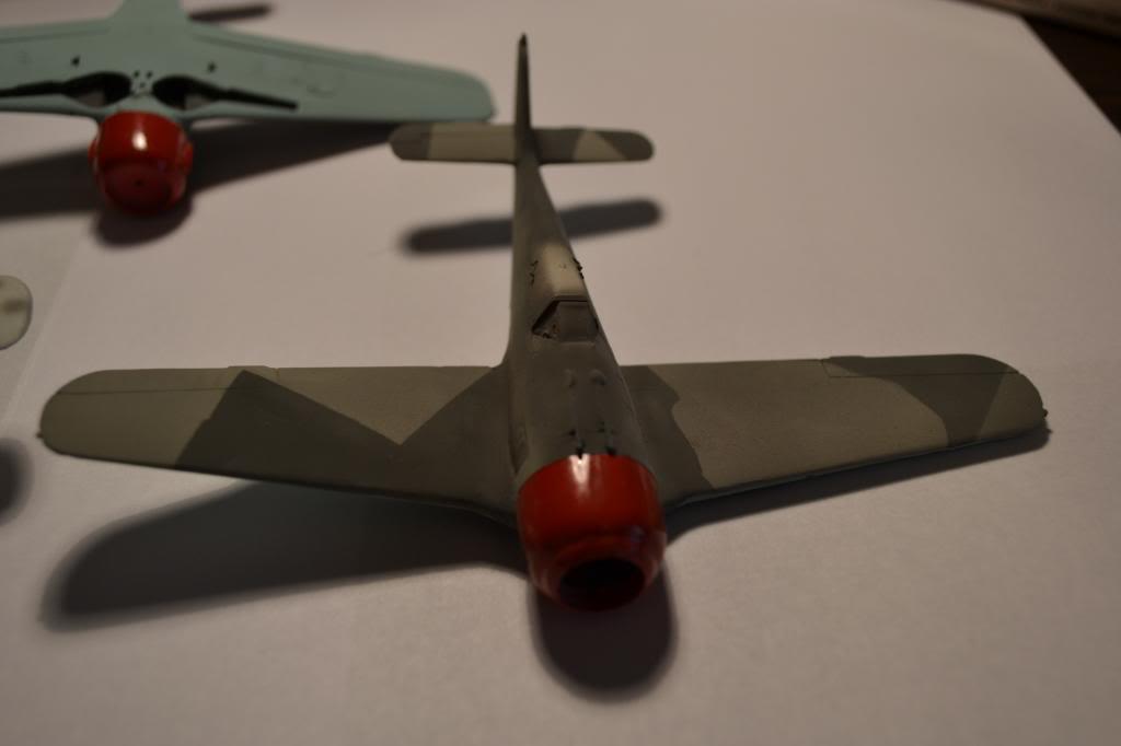 FOKE WULF Ta 154/ FW -190 A MISTEL  AIRFIX 1/72+ FW 190 A HELLER 1/72 DSC_0337_zpsee325205