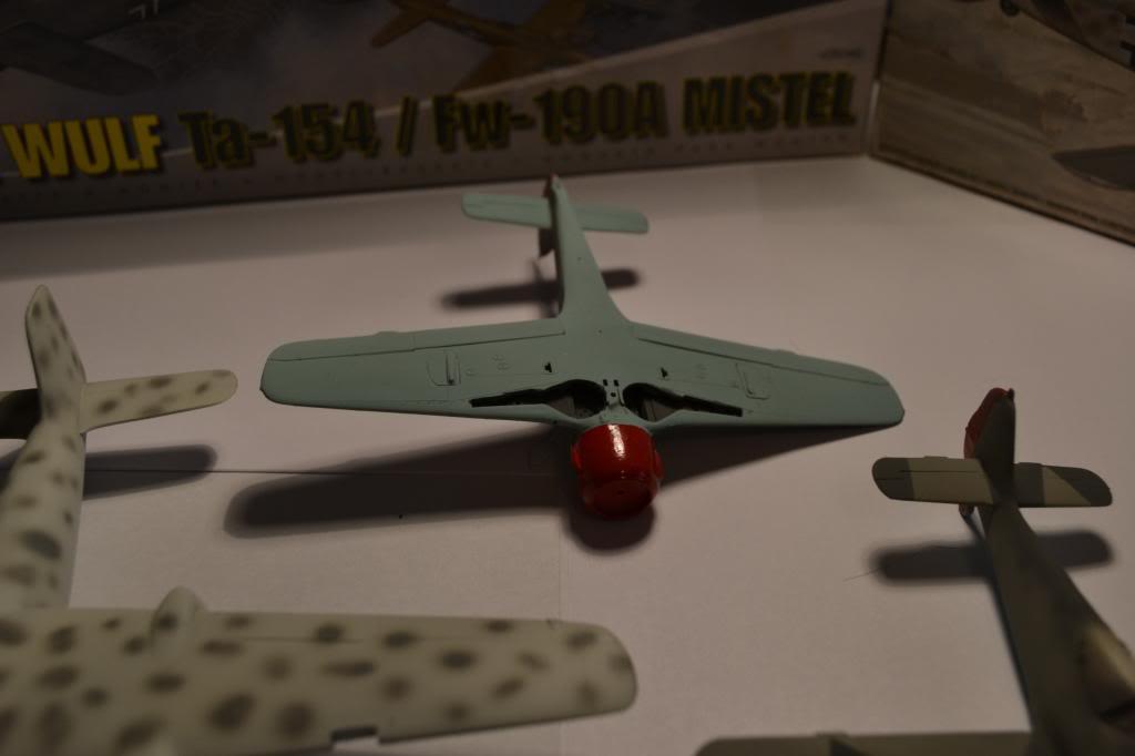 FOKE WULF Ta 154/ FW -190 A MISTEL  AIRFIX 1/72+ FW 190 A HELLER 1/72 DSC_0338_zps6604aac5