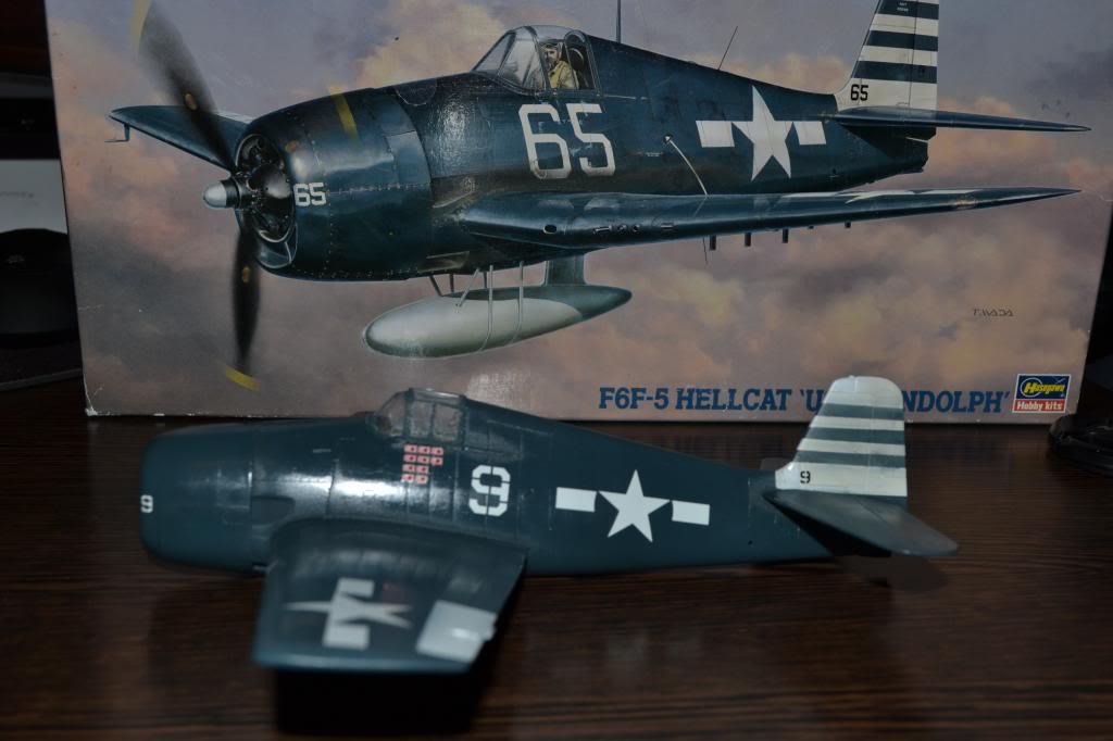 """F 6 -F5 Hellcat """"USS Randolph"""" 1/35 Hasegawa Imagen008_zps5b299fa0"""