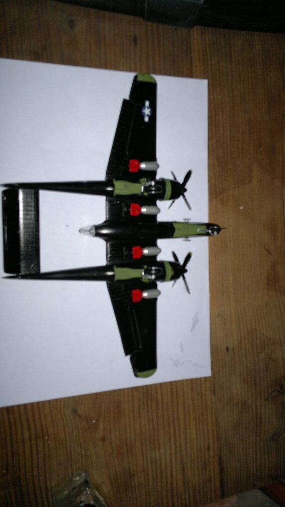 P 61 BLACK WIDOW 1/72 HELLER 175