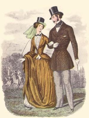 El traje de un caballero romántico  1850_fashion_riding_zps24e641a8