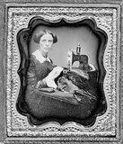 El oficio de modista Th_C0093347-19th_Century_seamstress_historical_image-SPL