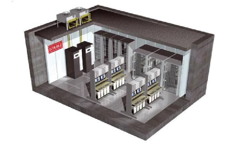 Giải pháp điều hòa hiệu quả cho phòng Server nhỏ Minispace