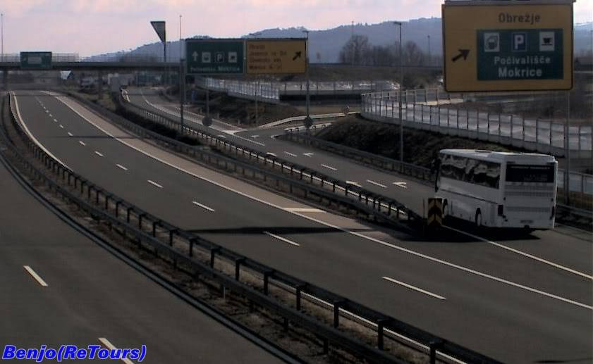 Stanje na Autocestama Autobusi (Kamere) SetraBosnaExpress