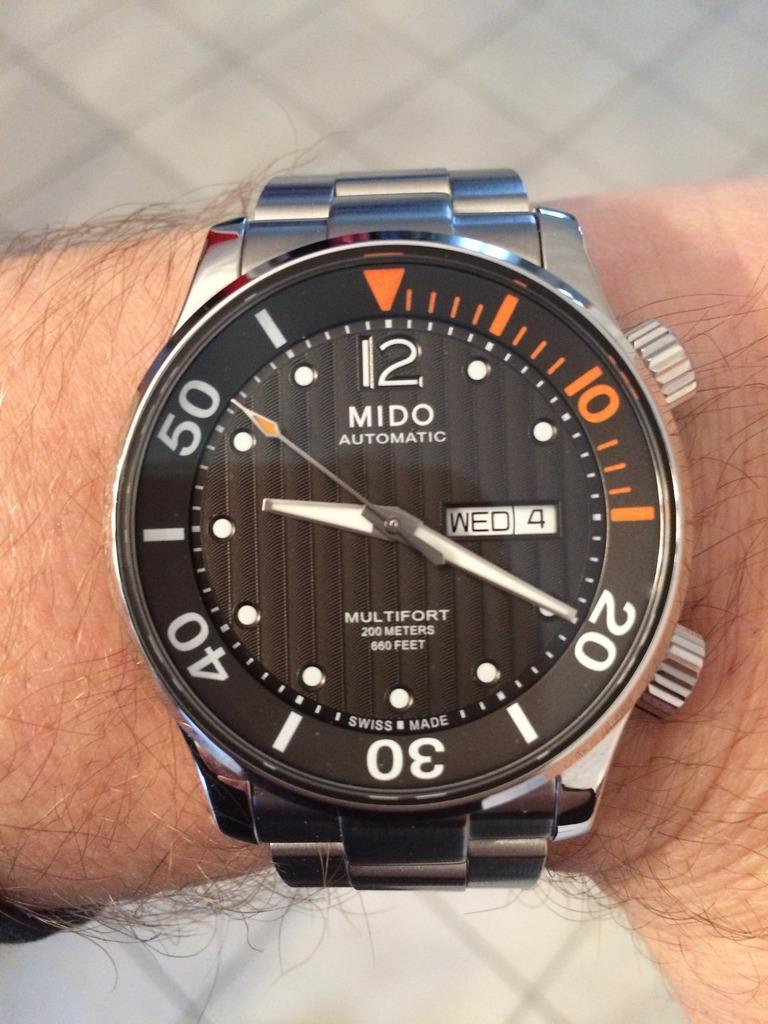 Mido - Le club des heureux propriétaires de Mido - Page 4 56B44508-7F39-4CE7-8996-B182DE670293