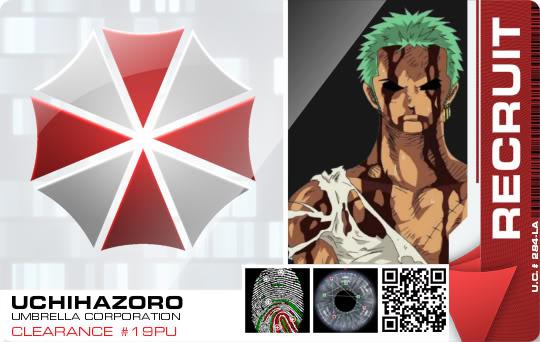 Crie agora seu crachá da Umbrella Corporation Image