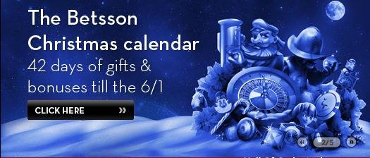 Betsson Free Spins, Gratis Spins, Ilmaiskierrosta   julegratiale kalender, Julebonus kalender, julbonus kalender, joulubonuksen kalenteri BetssonCasinoFreeSpinsBonusCalendarChristmas2012