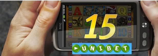 Unibet Casino 15 Free Spins, Ilmaiskierrokset, Gratissnurr, Fria Spinn - Starburst (Netent Mobile Casino) UnibetCasino15FreeSpins-mobileNetEnt