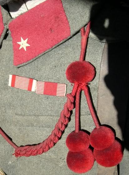 Austro-Hungarian NCO Collar Tabs Giubbaaust