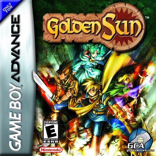 {GBA} Golden Sun [Español] G_GACAGOS