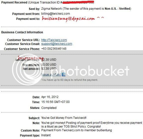 Twicker site uy tín-bản quyền 10 năm, min pay 0.1$ - Page 2 Twick2