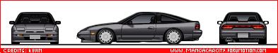 Japanese Cars 180sx89