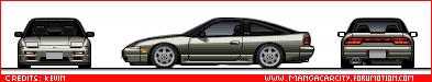 Japanese Cars 180sx93