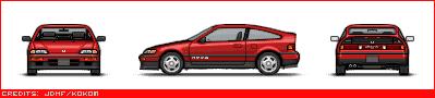Japanese Cars Crx