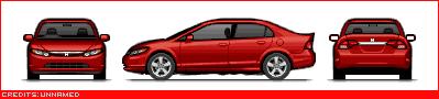 Japanese Cars Newcivicsedan